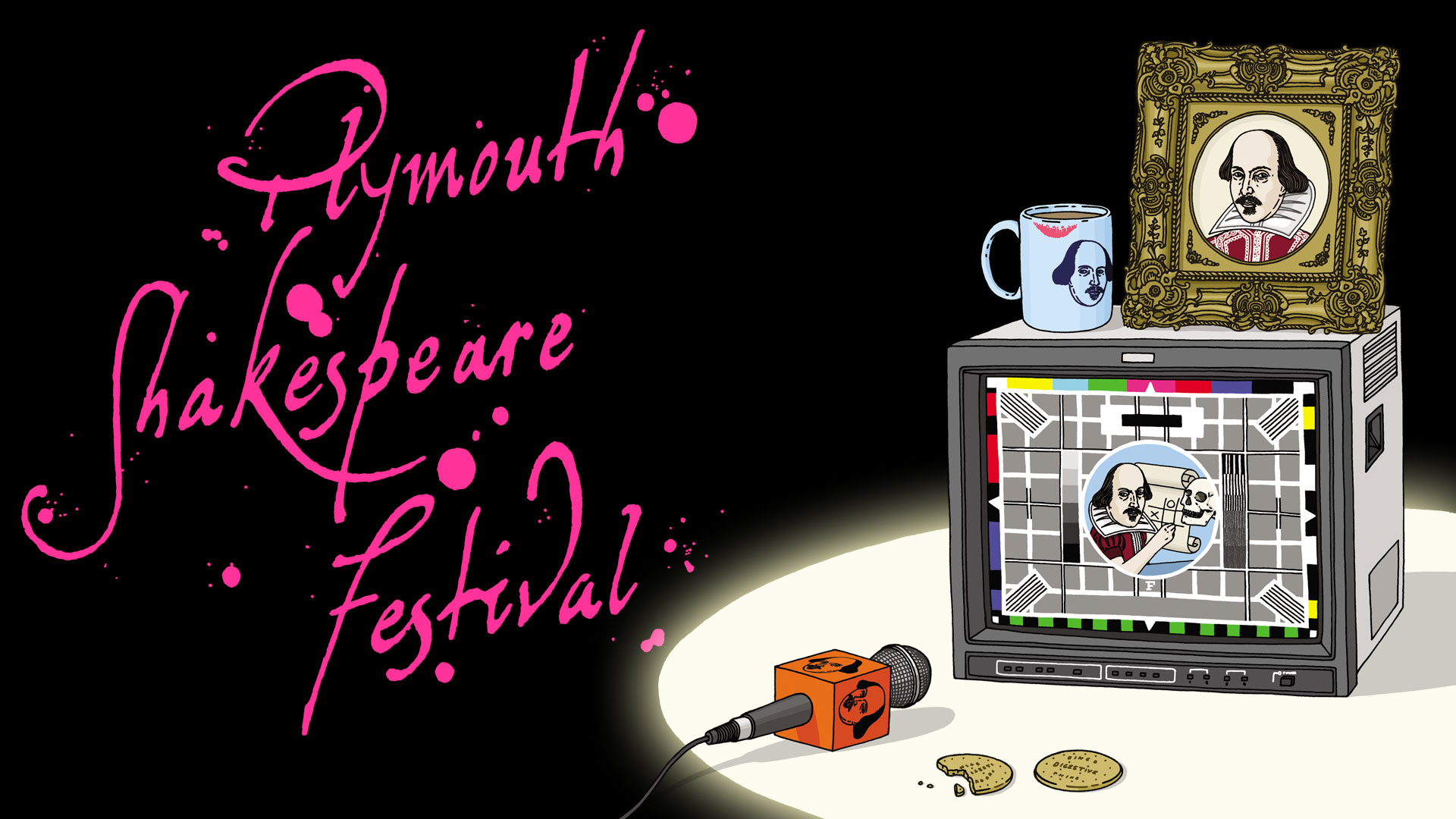 Plymouth Shakespeare Festival, event promotion