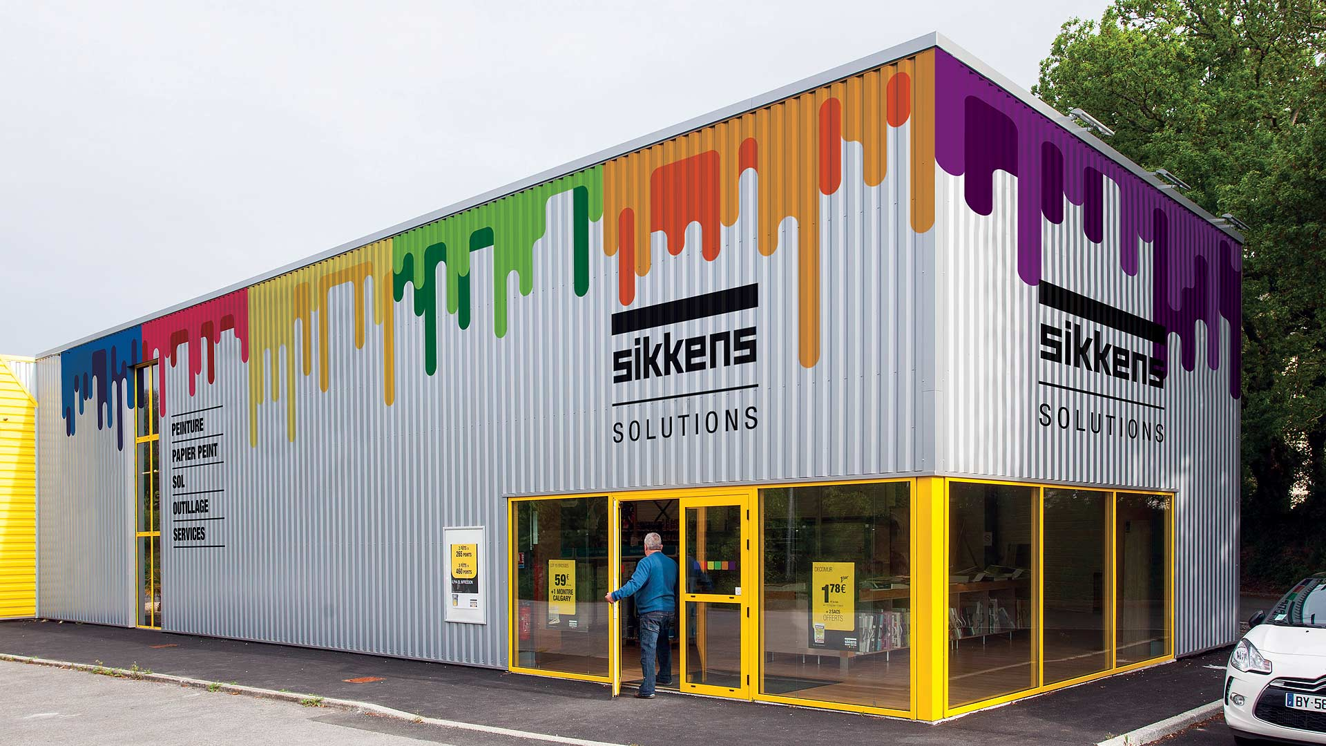 Sikkens (AkzoNobel), European brand expansion